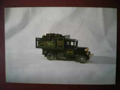 Postcard Haulage Ncb Coal Lorry - Model