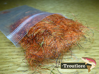 Gt Orange Ms Nymph Ftd Dubbing - New Fly Tying Dub Material