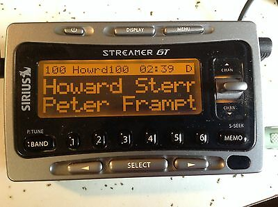 ACTIVATED Sirius SL1 Streamer GT SIR-SL1 Satellite RECEIVER.ONLY Xtr7 Starmate