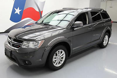 2016 Dodge Journey  2016 DODGE JOURNEY SXT 7PASS THIRD ROW ALLOY WHEELS 24K #123294 Texas Direct