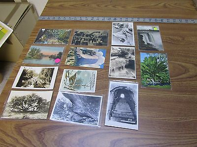Lot of 13 Vintage Postcards and Photographs   Antique