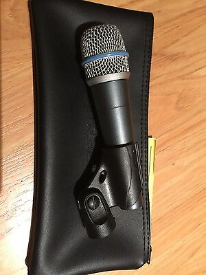 SHURE BETA 57A Handheld/Stand-Held Supercardioid Dynamic Microphone