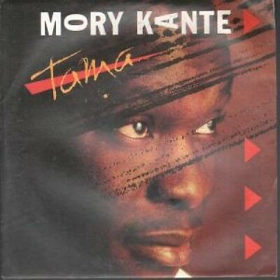 """MORY KANTE Tama 7"""" VINYL UK Issue Pressed In France London B/w Inch' Allah"""
