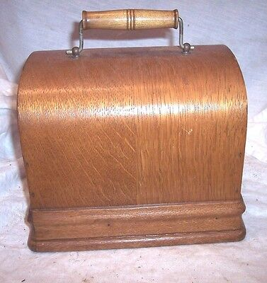 Edison Red Gem Phonograph Lid And Handle