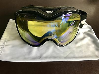Oakley Stockholm Black Persimmon Snow Ski Snowboard Womens Goggles