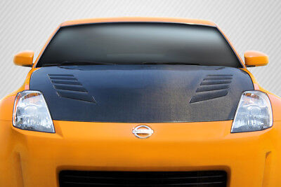03-06 Fits Nissan 350Z TS-2 DriTech Carbon Fiber Body Kit- Hood!!! 112957