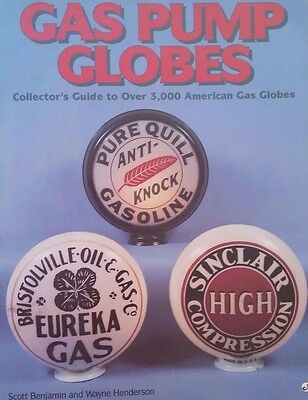 Vintage Gas Pump Globe Id Value Guide Collector's Book 3,000+ Globes Listed