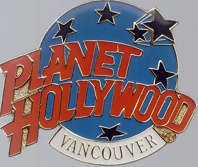 Planet Hollywood Pin PHI Vancouver