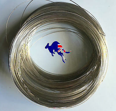 2m Craft Silver Tone WIRE for Floral/ Jewellery Making Beading Craft 1mm Alloy
