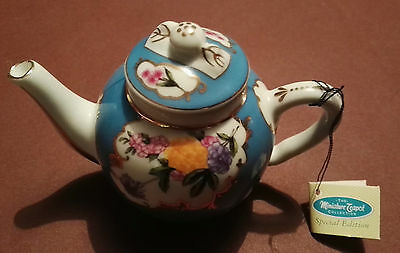 Miniature Teapot. Part Of The P.A. Miniature Teapot Collection.2/3 Inches High.