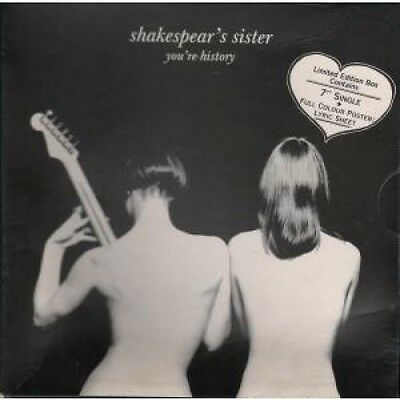 """SHAKESPEARS SISTER You're History 7"""" BOX SET VINYL UK Ffrr Box Set With Poster"""