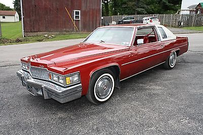 1978 Cadillac DeVille  1978 Cadillac Cpe Deville very original only 14K miles  1 owner