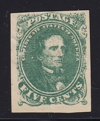 CSA 1 VF unused with nice color cv $ 180 ! see pic !
