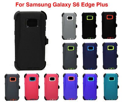 Case Cover For Samsung Galaxy S6 Edge+ Plus [Belt Clip Fits Otterbox Defender]