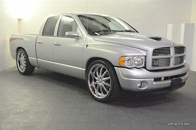 "2004 Dodge Ram 1500 5.7 LITER HEMI SUPERCHARGED Ram 1500 Custom Supercharged 24"" Wheels Intercooler Raised Hood"