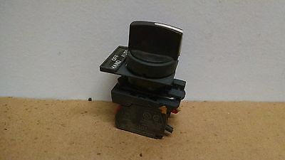 Telemecanique 2-Position selector Switch ZBE-101 NO  P165