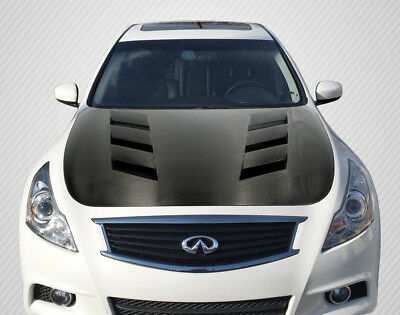 07-13 Fits Infiniti G Sedan AM-S DriTech Carbon Fiber Body Kit- Hood!!! 112964