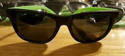80S Neon Green Frame 12 Party Sunglasses Wholesale Lot