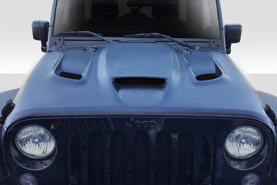07-17 Jeep Wrangler Hellcat Look Duraflex Body Kit- Hood!!! 113214