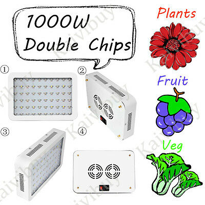 1000W Hydroponic Full Spectrum LED grow light For Indoor Medical Plants Frower#5