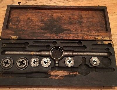 Antique Wells Brothers & Co. Little Giant Tap & Die Set Incomplete Partial 1885