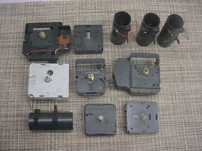 Lot Quartz Clock Replacement Movements Parts or Repair.Work Various Brands  E994