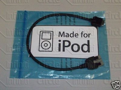 New Oem Infiniti G35 G37 Ipod Auxilary Harness Cable