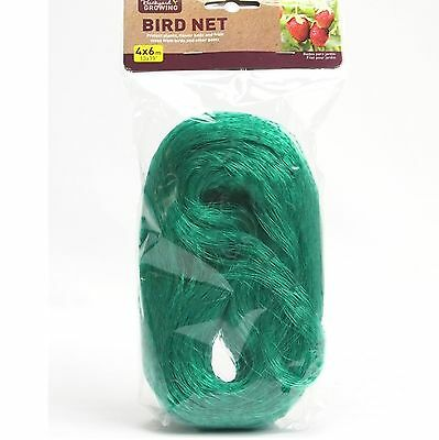 20mm 4x 6m Garden Netting Bird Fish Pond Protection Plant Cover Flower Fruit Net