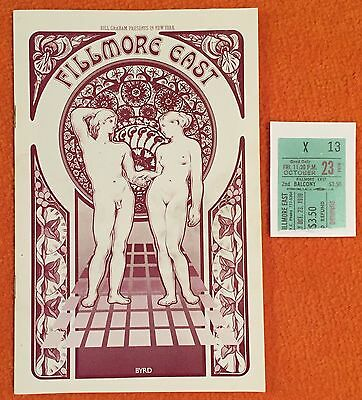DEREK & DOMINOES /ERIC CLAPTON  Orig.Oct 1970 Fillmore East Program MINT!