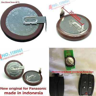 NEW VL2330 Panasonic Rechargeable Battery For Land Rover Range Rover Key Fob