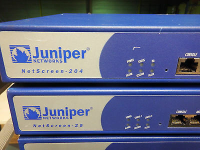 Juniper Networks Ns-204-005 Advanced Vpn Firewall Network Security - Used