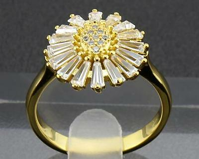 Antique Natural  Diamond  Rings 1.72ct In 14kt Solid Yellow Gold Size9