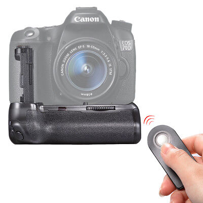 Neewer Remote Control Replacement BG-E14 Battery Grip for Canon EOS 70D 80D