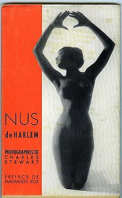 Livre PHOTO PARIS Nus de Harlem de Charles Stewart Editions Prisma 1961