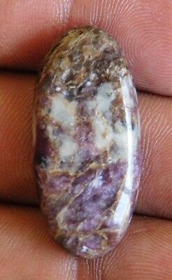 23.65Cts A+ 100% Natural Fantastic Purple Charoite  Cabochon Loose Gemstone
