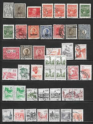 YUGOSLAVIA Interesting and Diverse Mint & Used Issues Selection 'P' (Dec 0454)