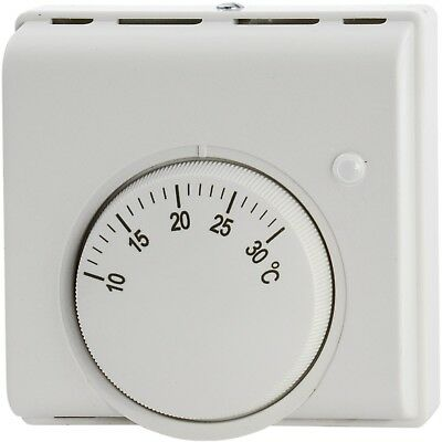 Manual mechanical ROOM THERMOSTAT Heating / Cooling & LED Honeywell stat style