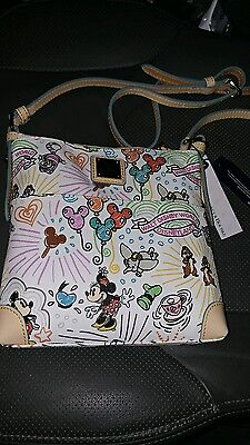Disney Parks Sketch Crossbody Hipster by Dooney & Bourke New with Tags