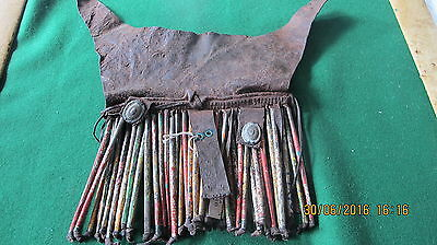 African Art - Namibia - Himba Forehead Cover Hand Made