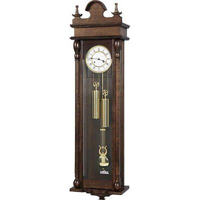 Vienna Regulator Clock with Hermle 8 Day Weight Driven Movement - 143