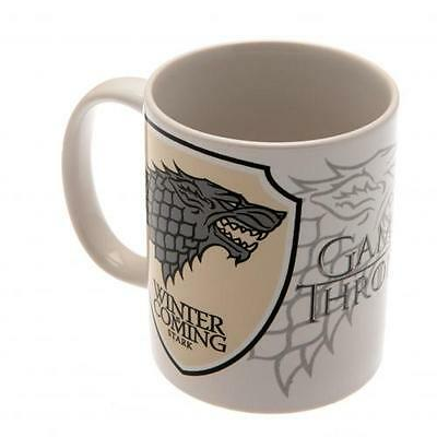 Official Licensed Product Game Of Thrones Mug Stark Wolf Cup Coffee Gift Box New