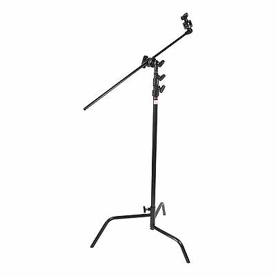 Matthews Hollywood 40in. Double Riser C Stand - Black