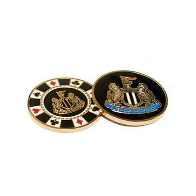 Newcastle United Casino Chip Ball Marker Golf Official Licensed Football Product