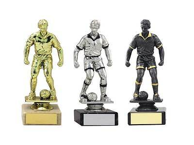 Male Football Trophy,Marble Base,160mm,3 Colours,Free Engraving (1364) mup