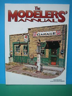 The Modelers Annual ~ Winter 2012   Excellent Us Railway Book   See Pics