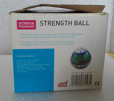 Strength Ball From Science Museum