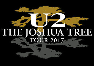 U2 Dublin Croke Park Joshua Tree Tour 2017 2 Seated Ticket ( Davin Stand Upper )