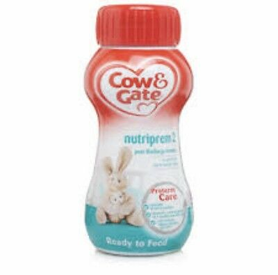 Cow And Gate Nutriprem 2 Ready Made Post Discharge Liquid Formula 200ml X 12