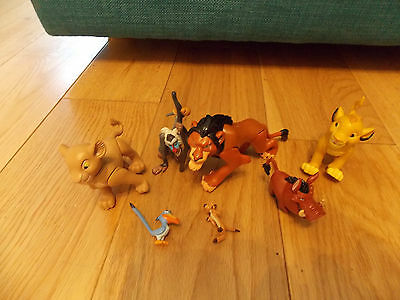 Disney The Lion King Hard Plastic Cake Topper Figures Some Articulated
