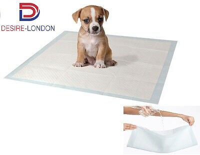 50-200 Extra Large Puppy Training Pads Toilet Pee Wee Mats Pet Dog Cat 60X45Cm